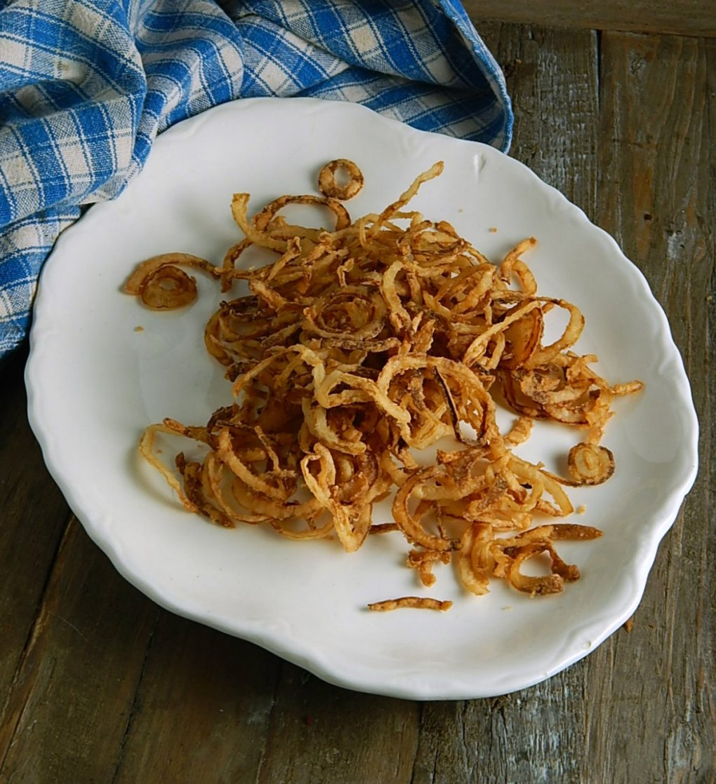 Copycat French's Crispy Onion Rings