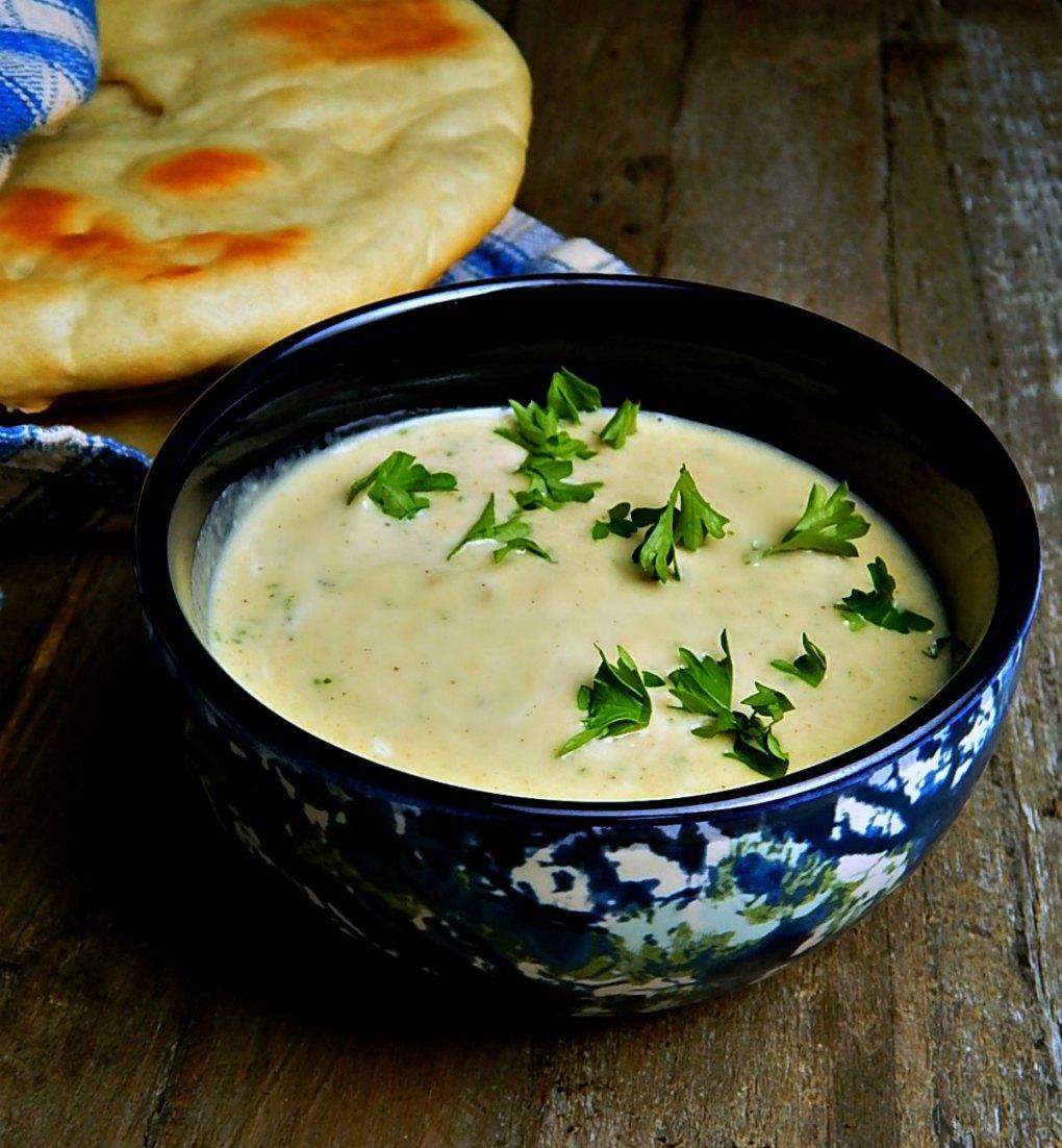 Lemon Garlic Tahini Sauce