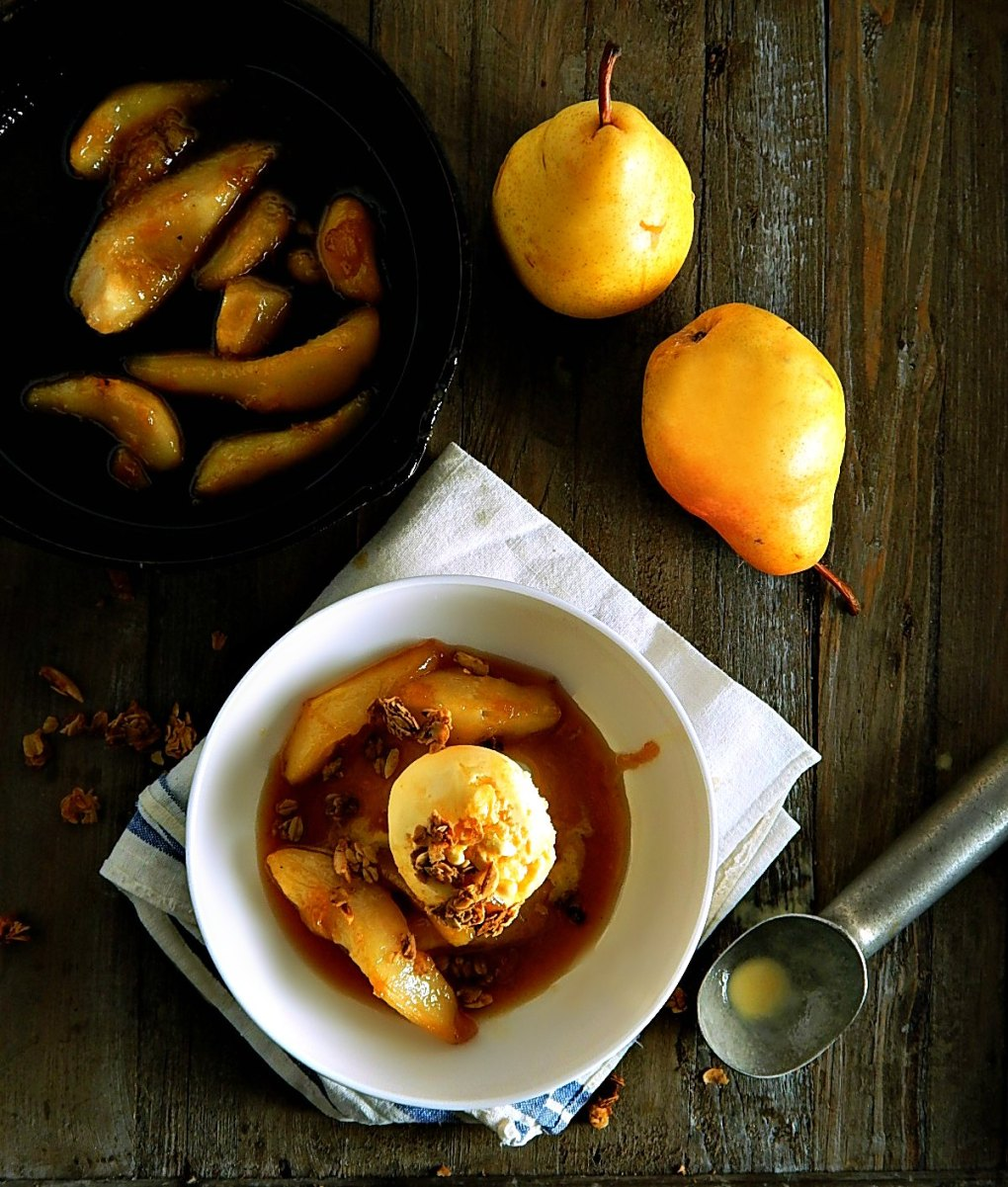 Pear Brown Sugar Caramel Syrup