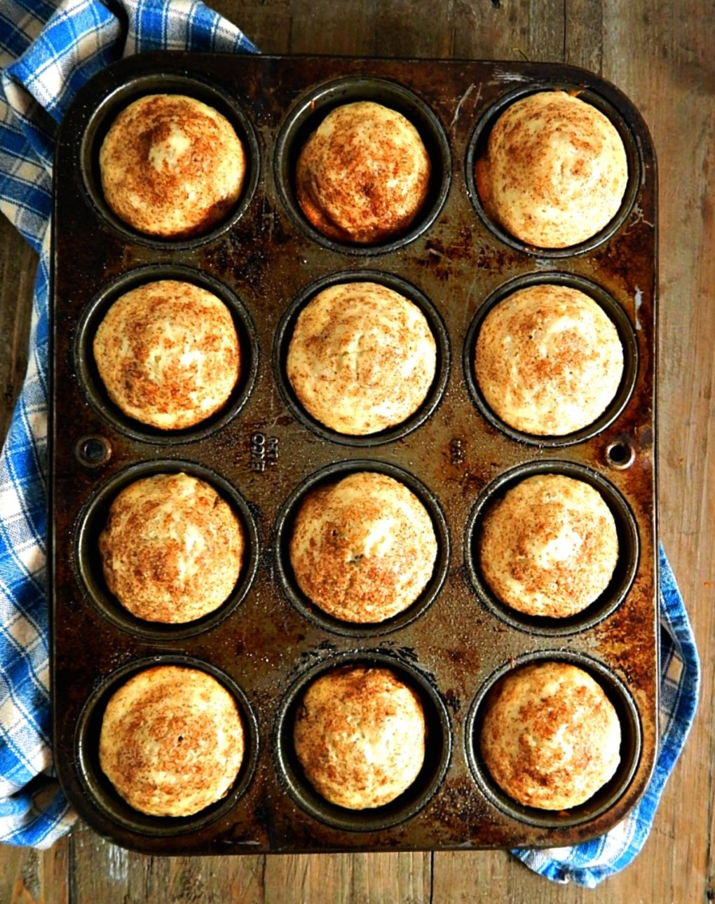 Leftover Oatmeal Muffins