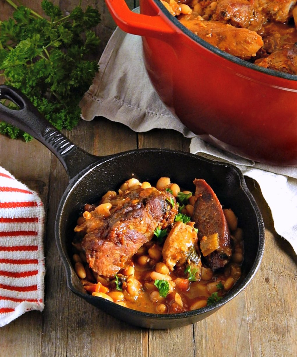 "Minnesota Cassoulet ""Bean Pot"""