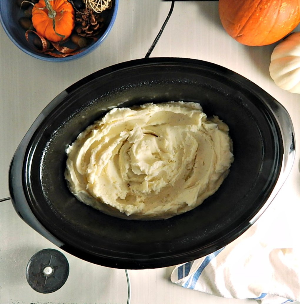 Make-Ahead Slow Cooker or Oven Mashed Potatoes