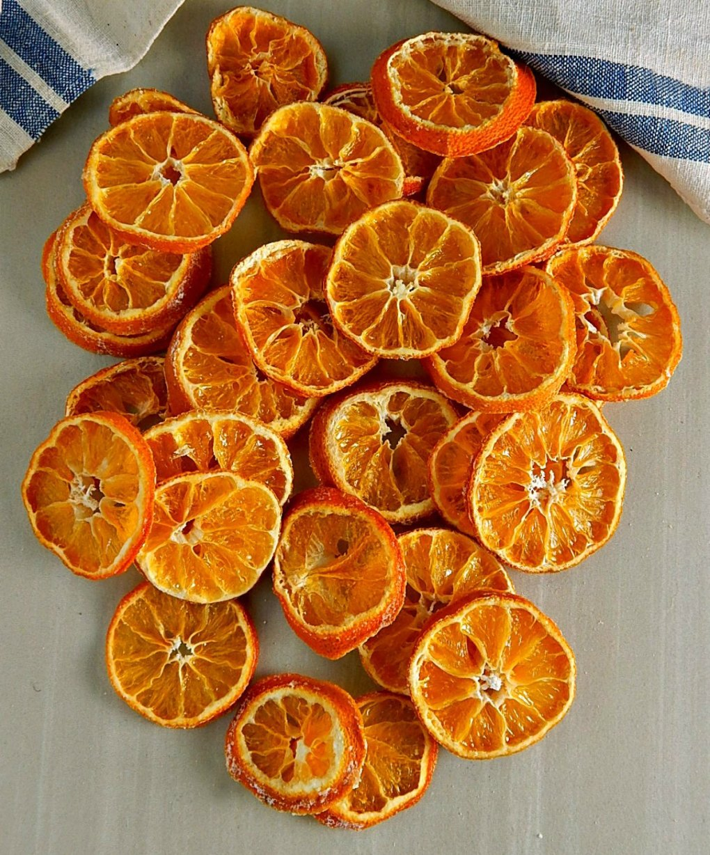 Beautiful Dried Oranges