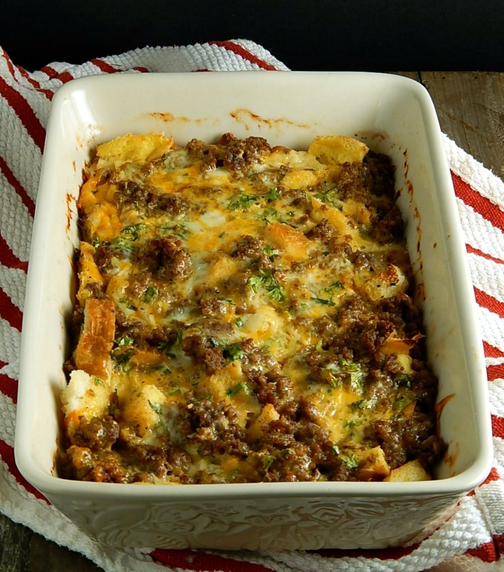 Overnight Breakfast Sausage Casserole