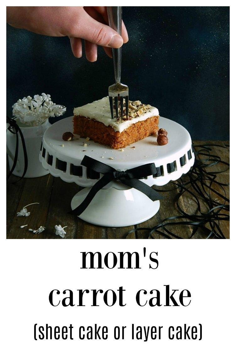 Mom\'s Classic Carrot Cake