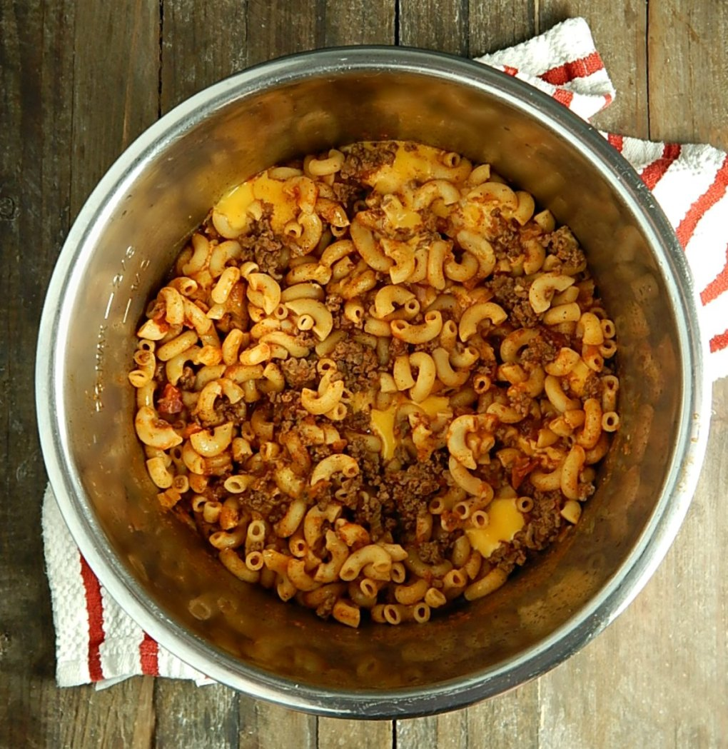 Easy Cheesy Chili Mac - Instant Pot or Not