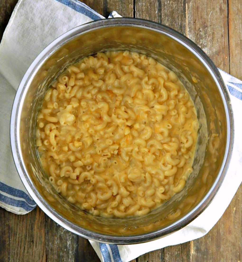 Instant Pot Macaroni & Cheese