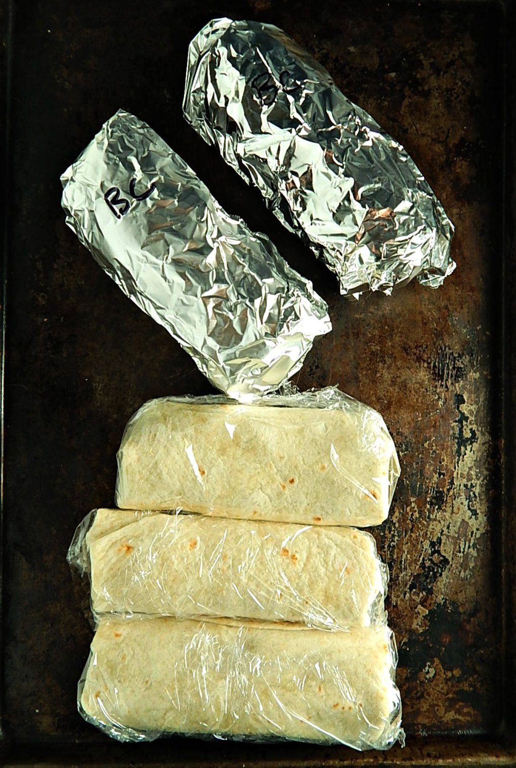Freezer Friendly Burritos