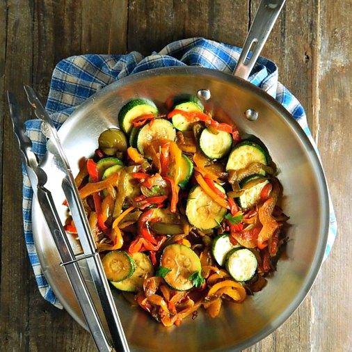 Lemon Pepper Vegetable Saute