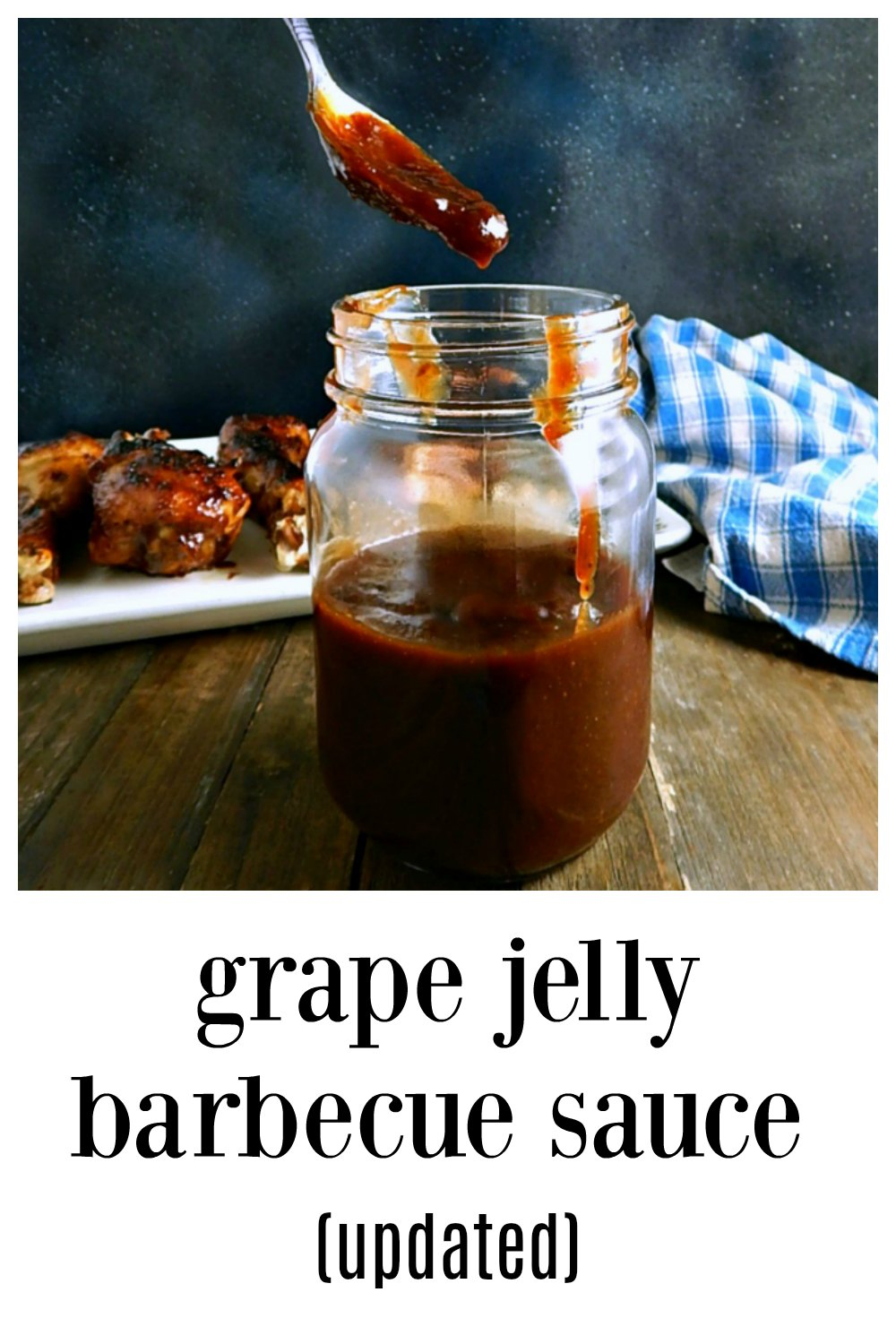Grape Jelly Barbecue Sauce, Updated