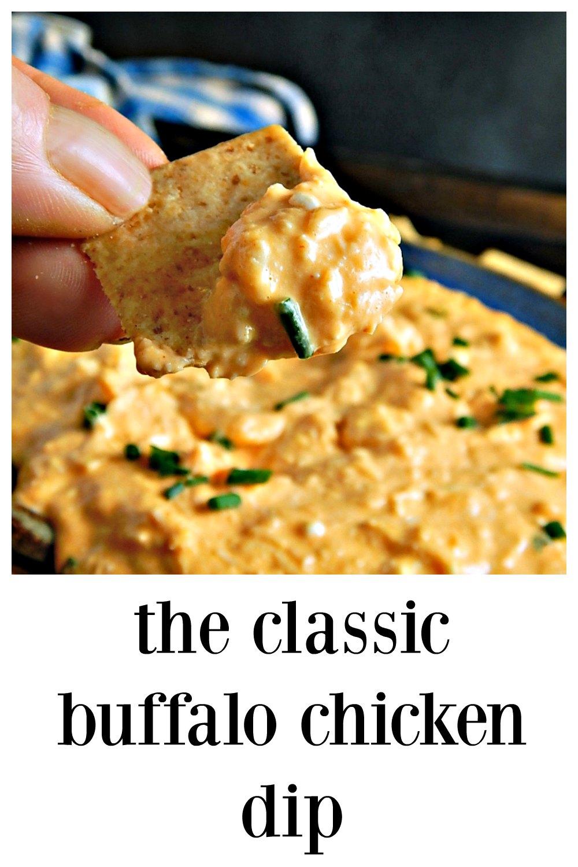 Classic Buffalo Chicken Dip