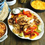 Classic Grilled Chicken Fajitas