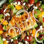 Longhorn Grilled Chicken Strawberry Salad