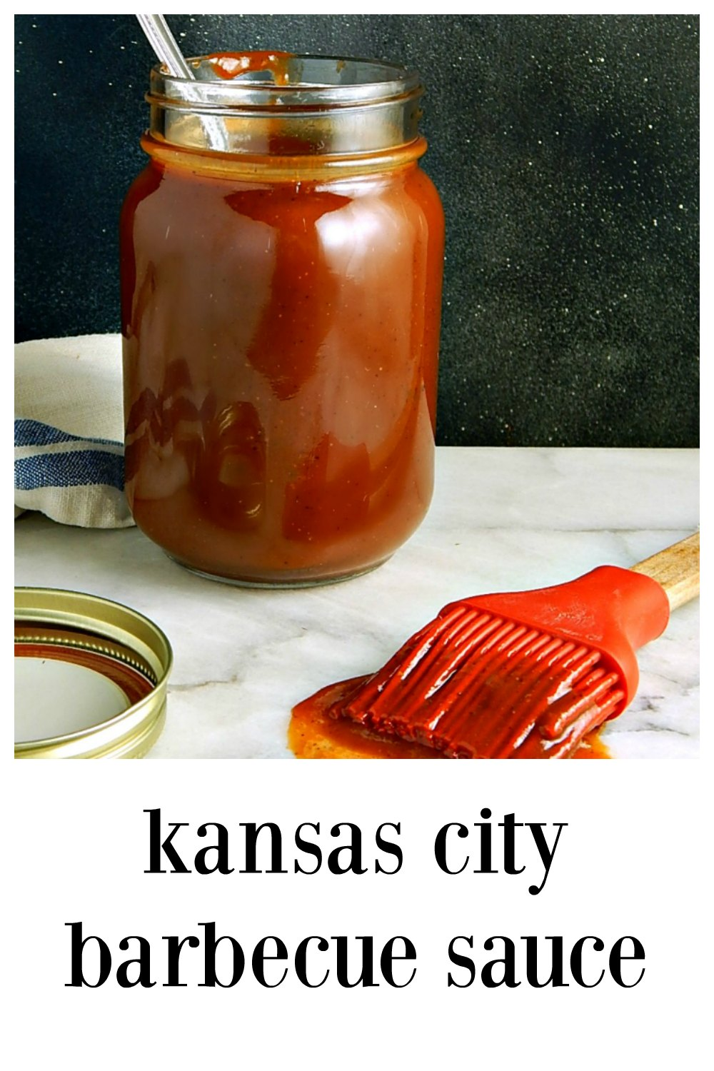 Your homemade Kansas City Barbecue Sauce is fresh & tangy, sweet, thick but with a bit of spice to keep it interesting. Put that #*&$#* on everything! Easy to make just use a Dutch oven to capture any splatters! #HomemadeBarbecueSauce #KansasCityBarbecueSauce #HomemadeBBQSauce #KansasCityBBQSauce