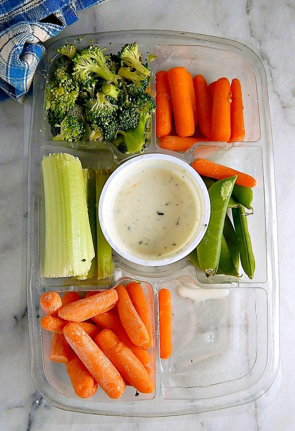 Leftover Veggie Tray