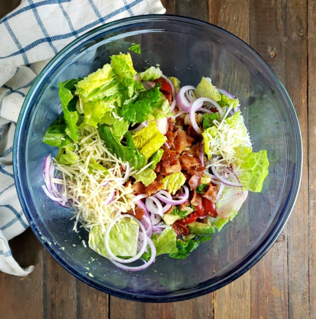Avocado Tomato Bacon Pasta Salad