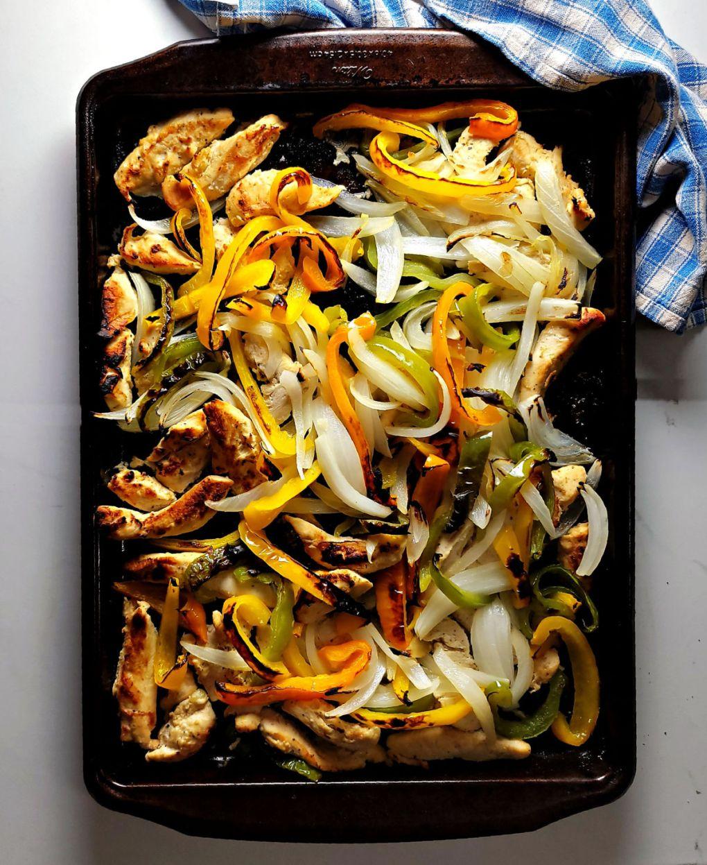 Best Sheet Pan Chicken Fajitas