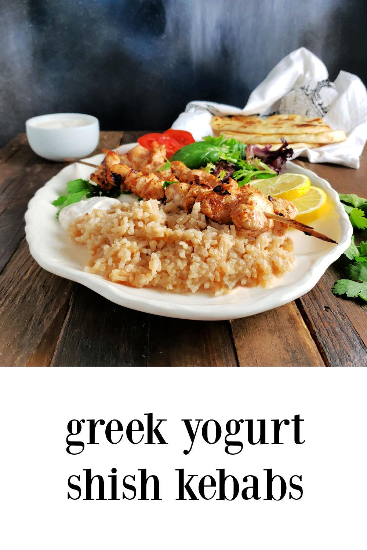 pin Greek Yogurt Shish Kebabs