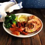 Apple & Sausage Stuffed Pork Tenderloin