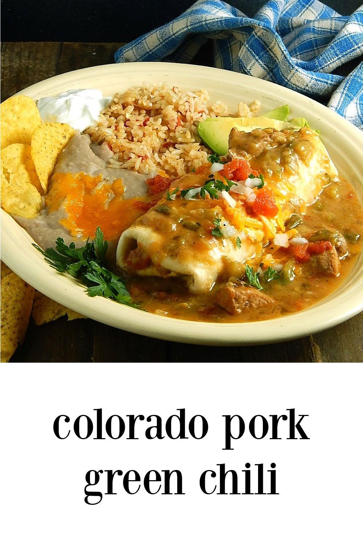 pin Colorado Pork Green Chili