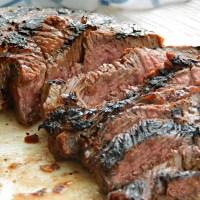 Teriyaki Marinated Steak