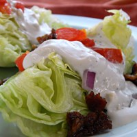 Bleu Cheese Dressing & Wedge Salad