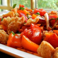 Updated Panzanella Salad