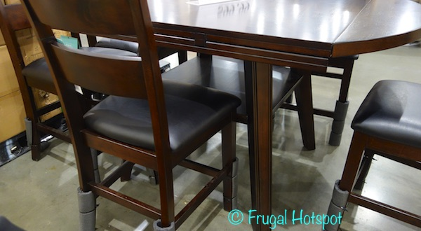 Bayside Furnishings 7-Piece Square To Round Counter-Height