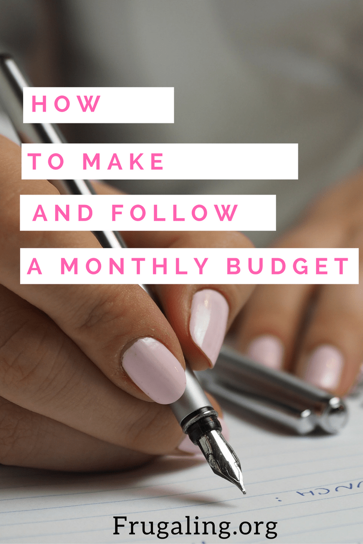 How to make and follow a monthly budget. Creating a monthly budget goes back to basic accounting skills. It's a simple equation: What you spend must be less than you take in.
