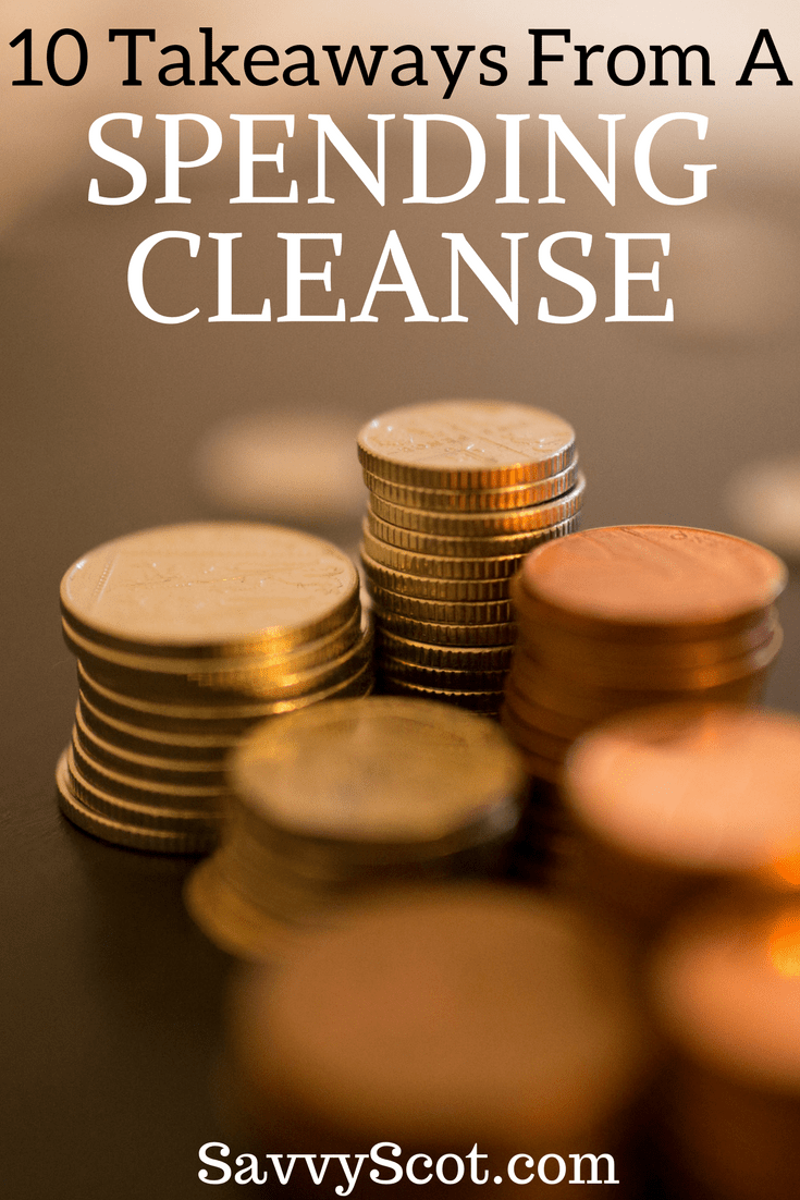 After spending $0 for the week, I sat down to reflect on what I had learned - what was most important for others to hear. The following are my 10 takeaways from this little spending cleanse: