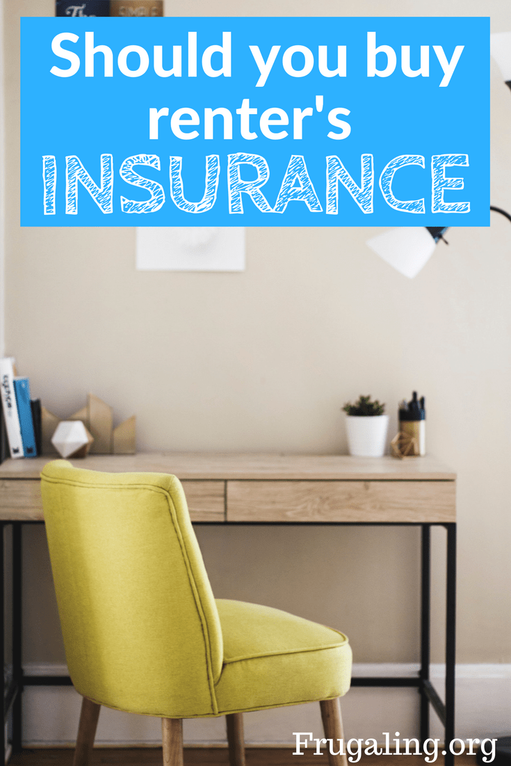 Home insurance may never be applicable to me, but what about renter's insurance?