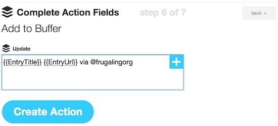 Choose Buffer App to Automate Twitter via IFTTT