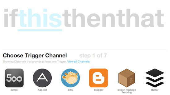 IFTTT Trigger Channel to Automate Twitter
