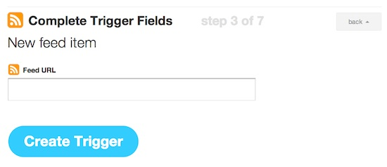 IFTTT Trigger RSS Feed Automate Twitter
