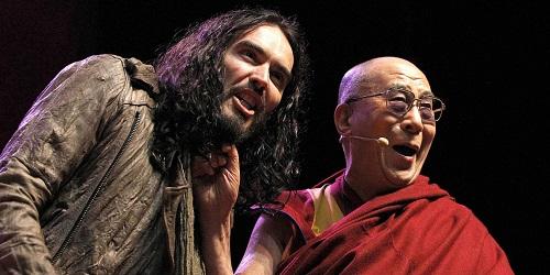 Russell Brand Dalai Lama