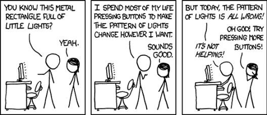 xkcd computer problems 21st century desksitter
