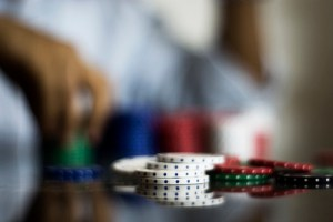 Poker Cards Chips Texas Hold Em Gambling Problem