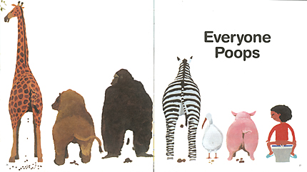 Everyone poops classic books