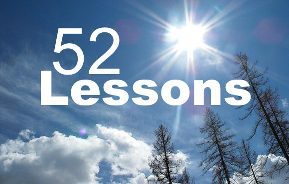 52 Lessons Learned