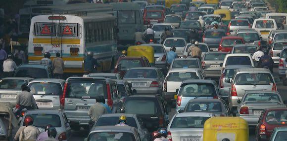 Traffic Jam Commute