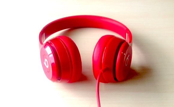 Beats Headphones On-Ear Red