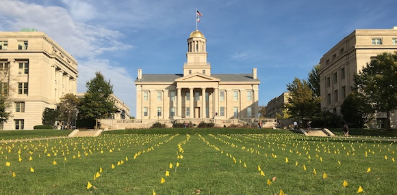 University of Iowa Old Capitol Building