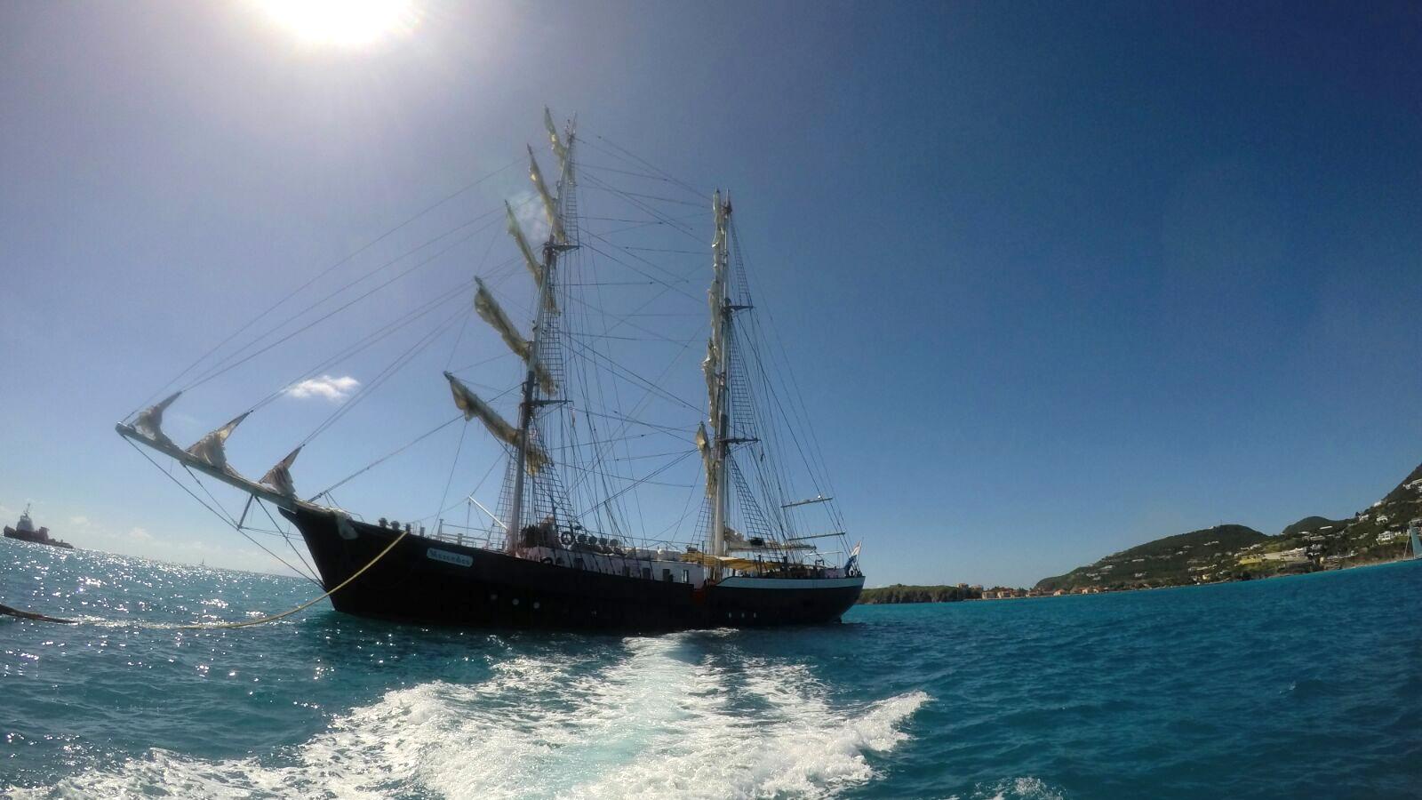 Das Segelschiff Mercedes