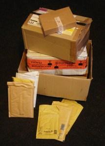 Verpackungsmaterial Vorrat