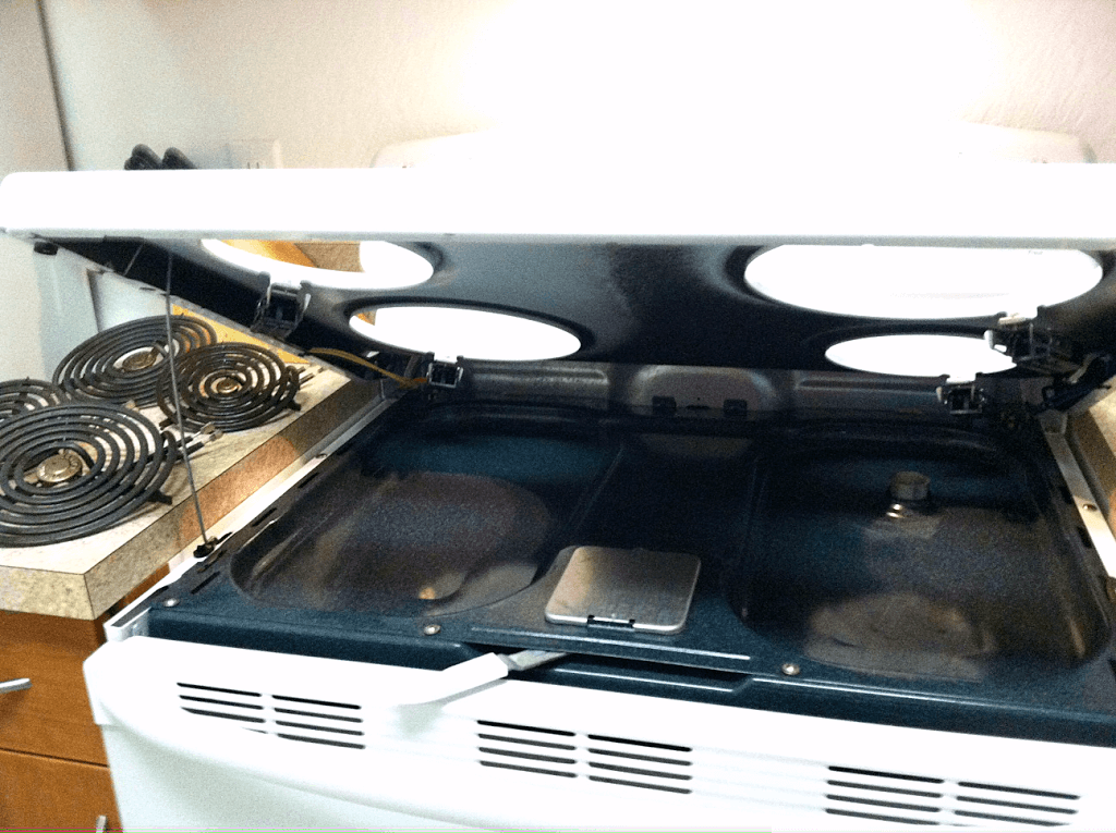 how to clean stove drip pans with wd40