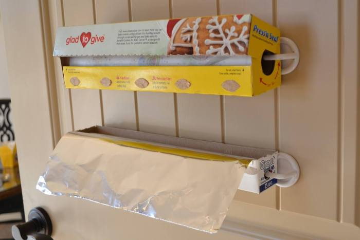 Plastic Wrap and Foil Storage by Ask Anna Moseley