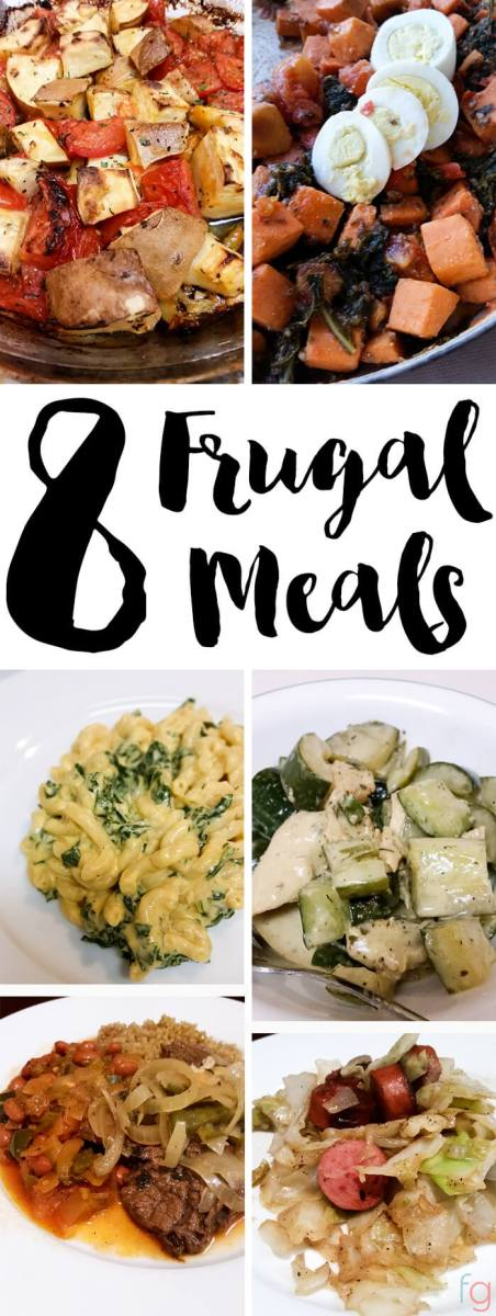 Frugal Meals I've made recently: Ideas for breakfast, lunch and dinner! Showing you guys a few meals that I made recently that hit the mark with both flavor and budget.