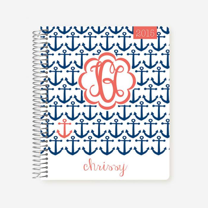 This 2017 Planner from Plum Paper Planner will help you stay on top of your to do list. They have so many options to personalize your planner!