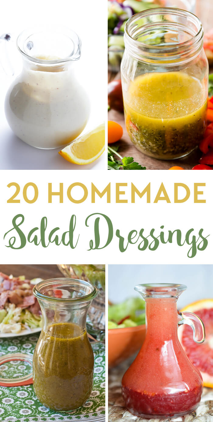 20 Awesome Homemade Salad Dressing Recipes to Have up your Sleeve!