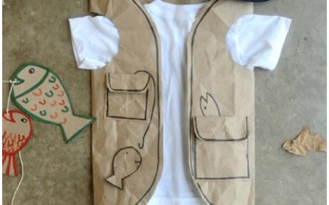 home garden diy linky - fisherman costume